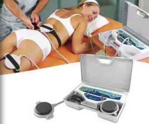aplicación del tratamiento de magnetoterapia