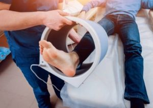 edema oseo en el pie o tobillo